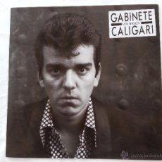 Discos de vinilo: GABINETE CALIGARI - LOS SINGLES - LP - RARO. Lote 48969274