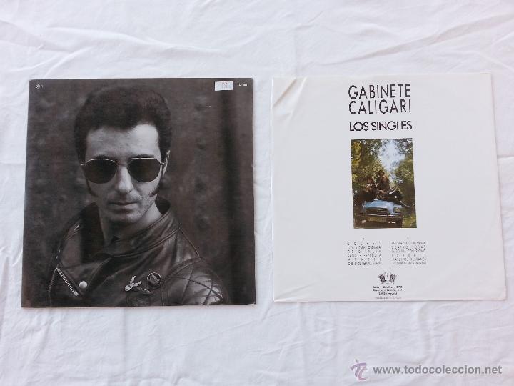 Discos de vinilo: GABINETE CALIGARI - LOS SINGLES - LP - RARO - Foto 3 - 48969274
