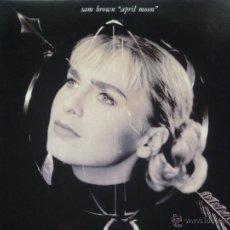 Disques de vinyle: SAM BROWN,APRIL MOON EDICION ESPAÑOPLA DEL 90. Lote 48972100
