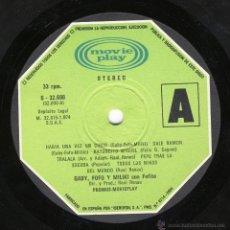 Discos de vinilo: GABY, FOFO Y MILIKI CON MILIKITO.-. Lote 48973502