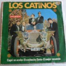 Discos de vinilo: LOS CATINOS - CAPRI SE ACABO + 3 EP 1965. Lote 48979146