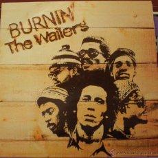 Discos de vinilo: THE WAILERS - BURNIN'. Lote 48979606