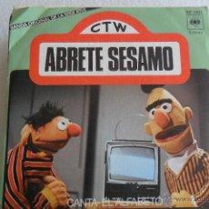Discos de vinilo: ABRETE SESAMO - CANTA/ EL ALFABETO 1976. Lote 48980894