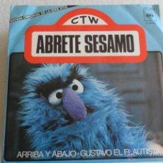 Discos de vinilo: ABRETE SESAMO - ARRIBA Y ABAJO/GUSTAVO EL FLAUTISTA 1976. Lote 48980933