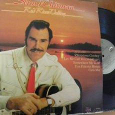 Discos de vinilo: SLIM WHITMAN -RED RIVER VALLEY -LP 1977 -EDICION AMERICANA. Lote 48982355
