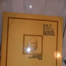 Discos de vinilo: BACH.- RECITAL DE ÓRGANO. KARL RICHTER AL ÓRGANO DEL VICTORIA HALL (GINEBRA) ACE OF DIAMONDS LP. Lote 48983053