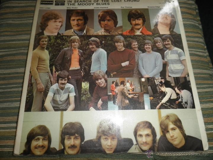 Discos de vinilo: MOODY BLUES - IN SEARCH OF THE LOST CHORD LP - !!!MONO!!!! ORIGINAL INGLES - DERAM 1968 ! GATEFOLD - Foto 2 - 48992052
