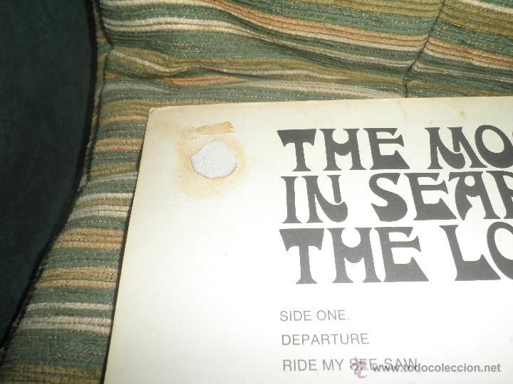 Discos de vinilo: MOODY BLUES - IN SEARCH OF THE LOST CHORD LP - !!!MONO!!!! ORIGINAL INGLES - DERAM 1968 ! GATEFOLD - Foto 9 - 48992052