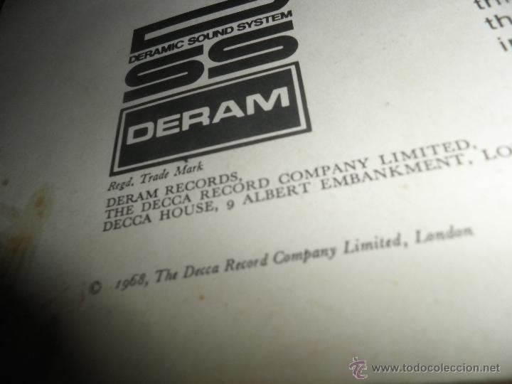 Discos de vinilo: MOODY BLUES - IN SEARCH OF THE LOST CHORD LP - !!!MONO!!!! ORIGINAL INGLES - DERAM 1968 ! GATEFOLD - Foto 12 - 48992052