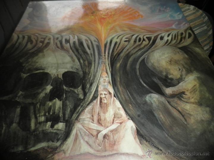 Discos de vinilo: MOODY BLUES - IN SEARCH OF THE LOST CHORD LP - !!!MONO!!!! ORIGINAL INGLES - DERAM 1968 ! GATEFOLD - Foto 17 - 48992052
