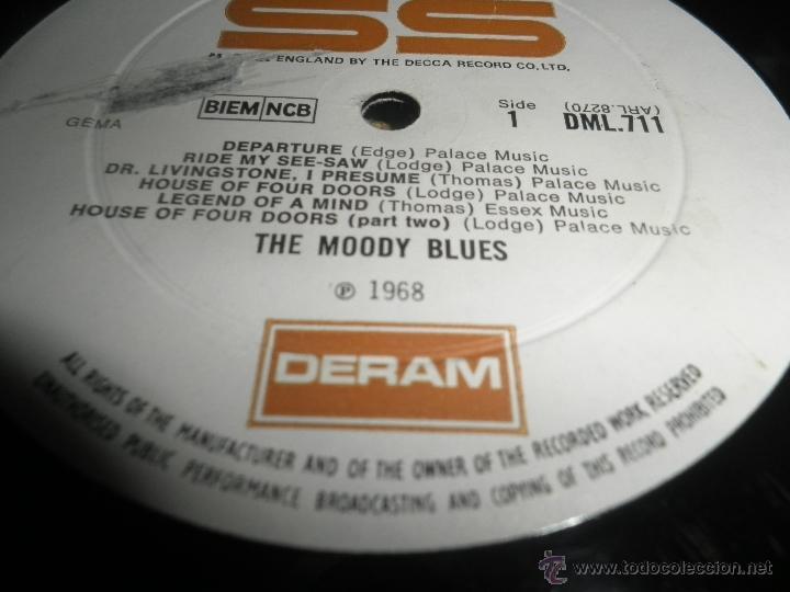Discos de vinilo: MOODY BLUES - IN SEARCH OF THE LOST CHORD LP - !!!MONO!!!! ORIGINAL INGLES - DERAM 1968 ! GATEFOLD - Foto 23 - 48992052