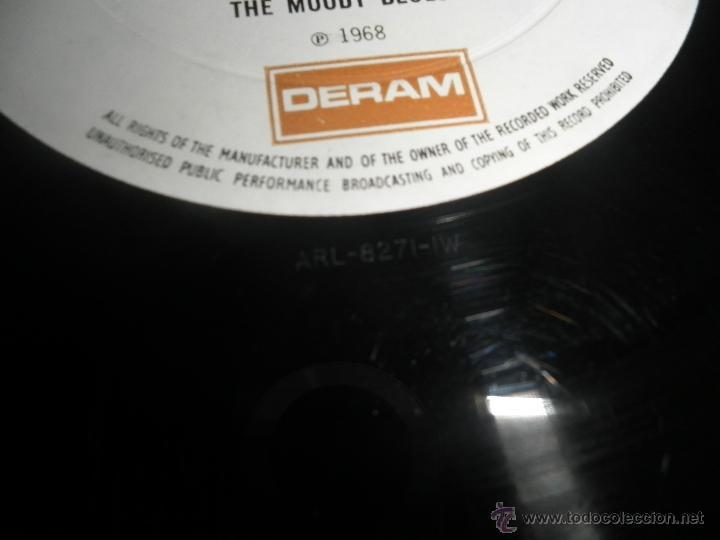 Discos de vinilo: MOODY BLUES - IN SEARCH OF THE LOST CHORD LP - !!!MONO!!!! ORIGINAL INGLES - DERAM 1968 ! GATEFOLD - Foto 27 - 48992052