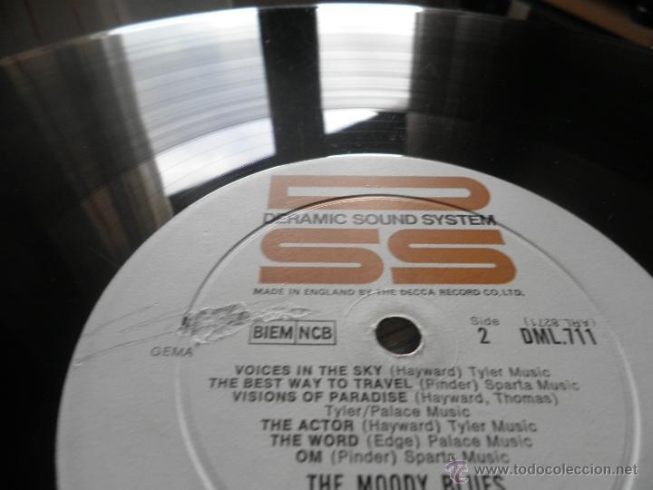 Discos de vinilo: MOODY BLUES - IN SEARCH OF THE LOST CHORD LP - !!!MONO!!!! ORIGINAL INGLES - DERAM 1968 ! GATEFOLD - Foto 30 - 48992052