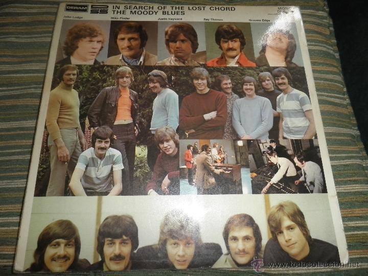 Discos de vinilo: MOODY BLUES - IN SEARCH OF THE LOST CHORD LP - !!!MONO!!!! ORIGINAL INGLES - DERAM 1968 ! GATEFOLD - Foto 31 - 48992052
