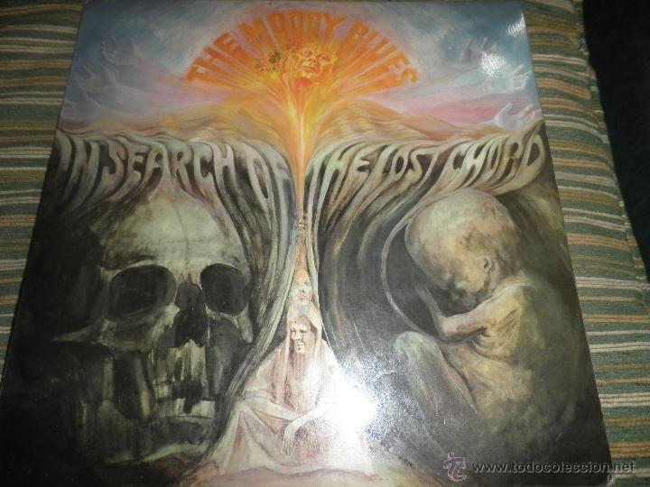Discos de vinilo: MOODY BLUES - IN SEARCH OF THE LOST CHORD LP - !!!MONO!!!! ORIGINAL INGLES - DERAM 1968 ! GATEFOLD - Foto 32 - 48992052