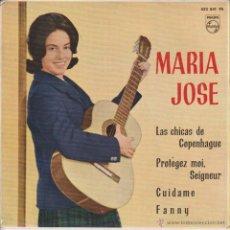 Discos de vinilo: MARIA JOSE - LAS CHICAS DE COPENHAGUE - FANNY + 2 - EP SPAIN 1962 EX VG++. Lote 48994824