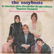 Discos de vinilo: THE EASYBEATS - LA MUSICA GIRA ALREDEDOR DE MI CABEZA - BUENOS TIEMPOS - SG SPAIN 1968 G/ VG++. Lote 48995406
