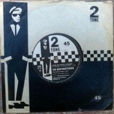 Discos de vinilo: BODYSNATCHERS. LET'S DO ROCK STEADY/ RUDER THAN YOU. TWO TONE, UK 1980 SINGLE ORIGINAL. Lote 48995759