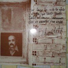 Discos de vinilo: LABORDETA , QUE NO AMANECE POR NADA (FUNDA SIMPLE). Lote 48998017
