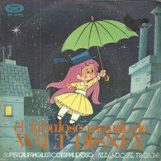Discos de vinilo: CORO INFANTIL LA TREPA SINGLE SELLO MOVIEPLAY AÑO 1971 VINILO ROJO. Lote 49003295