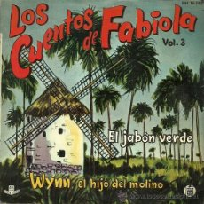 Discos de vinilo: LOS CUENTOS DE FABIOLA DE MORA Y ARAGON VOL.3 EP SELLO HISPAVOX AÑO 1962. Lote 49003308