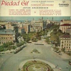 Discos de vinilo: PIEDAD GIL (JOTAS) EP SELLO COLUMBIA AÑO 1959. Lote 49003397