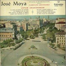 Discos de vinilo: JOSE MOYA (JOTAS) EP SELLO COLUMBIA AÑO 1959. Lote 49003406