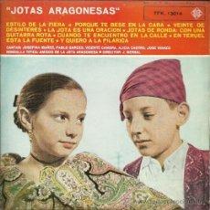 Discos de vinilo: RONDALLA TIPICA AMIGOS DE LA JOTA ARAGONESA (JOTAS) EP SELLO TELEFUNKEN AÑO 1962. Lote 49003437