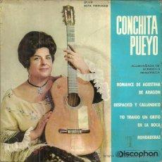 Discos de vinilo: CONCHITA PUEYO EP SELLO DISCOPHON AÑO 1962. Lote 49003462