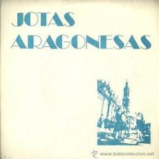 Discos de vinilo: CASA DE ARAGON DE MADRID CON RONDALLA EP SELLO SINTONIA AÑO 1968 JOTAS ARAGONESAS. Lote 49003483