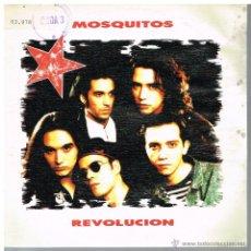 Disques de vinyle: MOSQUITOS - REVOLUCIÓN - SINGLE 1990. Lote 49009822