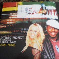 Discos de vinilo: MAXI 33. INTENSO PROJECT. YOUR MUSIC. Lote 49010388