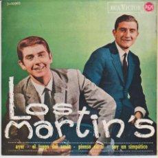 Discos de vinilo: LOS MARTINS - AYER ( TEMA BEATLES ) EL JUEGO DEL AMOR + 2 - EP SPAIN 1965 EX / EX. Lote 49011393