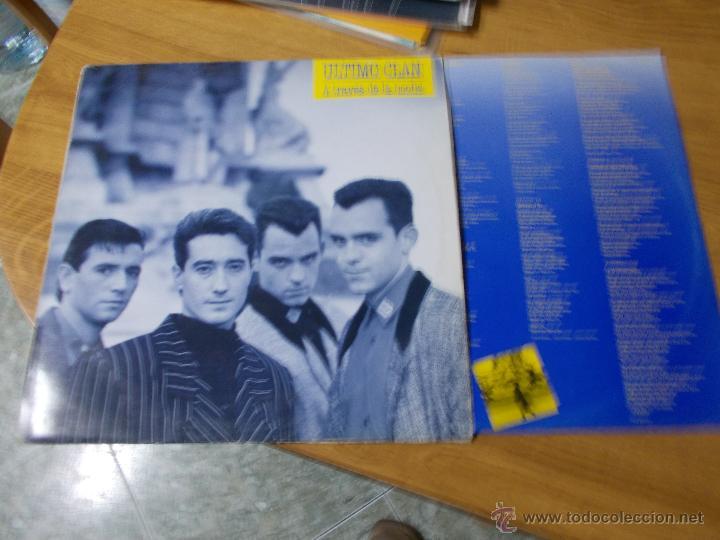 ULTIMO CLAN . A TRAVES DE LA NOCHE (Música - Discos - LP Vinilo - Grupos Españoles de los 90 a la actualidad)