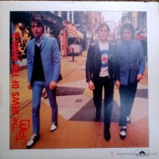 Discos de vinilo: JAM. NEWS OF THE WORLD/ AUNTIES AND UNCLES/ INNOCENT MAN. POLYDOR, UK 1978 EP ORIGINAL. Lote 49017309