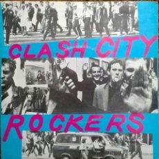 Discos de vinilo: CLASH. CLASH CITY ROCKERS/ JAIL GUITAR DOORS. CBS, UK 1978 SINGLE ORIGINAL. Lote 49017438