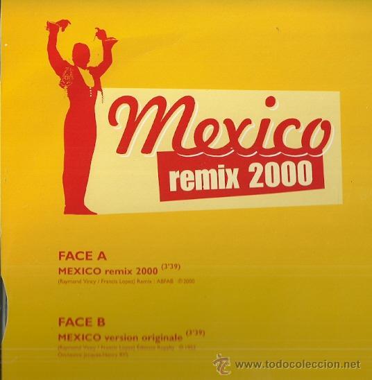 Discos de vinilo: LUIS MARIANO MAXI-SINGLE SELLO EMI AÑO 2000 MEXICO REMIX 2000 EDITADO EN FRANCIA. - Foto 2 - 49019610