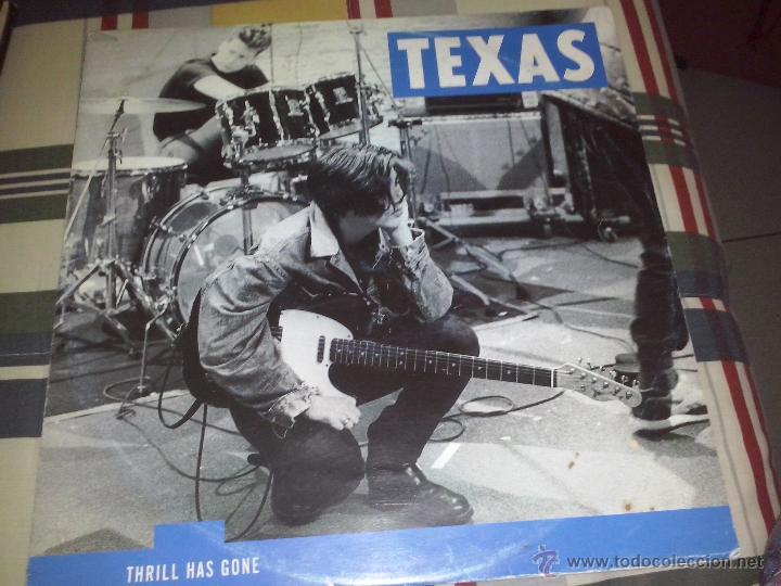 LP TEXAS THRILL HAS GONE 1989 (Música - Discos - LP Vinilo - Pop - Rock Extranjero de los 90 a la actualidad)