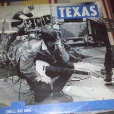 Discos de vinilo: LP TEXAS THRILL HAS GONE 1989. Lote 49023284