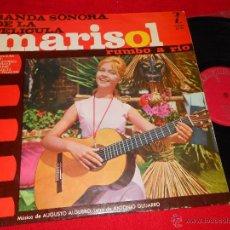 Discos de vinilo: MARISOL RUMBO A RIO BSO OST LP 1963 ZAFIRO AUGUSTO ALGUERO. Lote 49026998