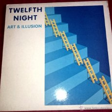 Discos de vinilo: TWELFTH NIGHT ( ART AND ILLUSION ) MUSIC FOR NATIONS-1984 . Lote 49029238