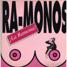 Discos de vinilo: RA-MONOS - LA RAMONA (2 VERSIONES) / SIDE & SIDE - MAXISINGLE 1993. Lote 49030639