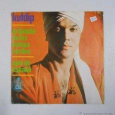 Discos de vinilo: KULDIP - LA BALADA DE LOS BOINAS VERDES + OJOS DE ESPAÑA. TDKDS3. Lote 49037952