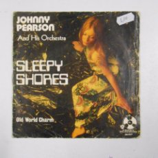 Discos de vinilo: JOHNNY PEARSON AND HIS ORCHESTRA - SLEEPY SHORES. TDKDS3. Lote 49037993