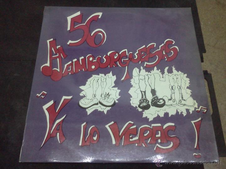 56 HAMBURGUESAS¡YA LO VERÁS! (Música - Discos - LP Vinilo - Reggae - Ska)