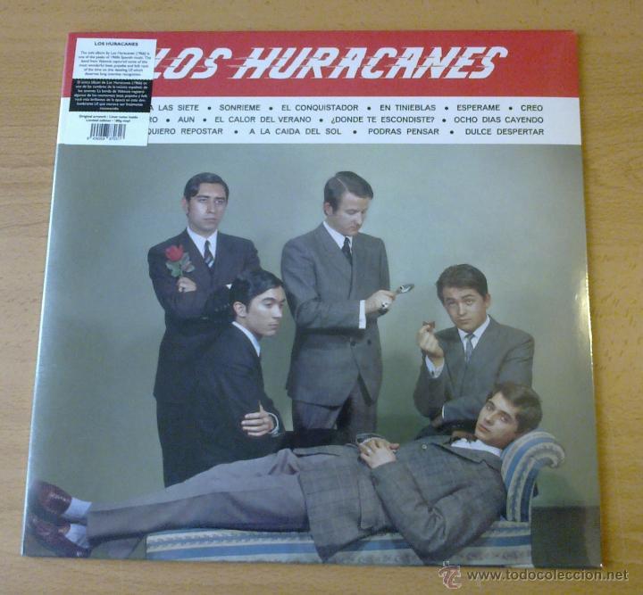 LOS HURACANES - LOS HURACANES ( LP 1966 EMI MUSIC SPAIN, REEDICIÓN VINILÍSSSIMO) (Música - Discos - LP Vinilo - Solistas Españoles de los 50 y 60)