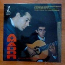 Discos de vinilo: AMADOR Y MANOLO SANLÚCAR - 1963 - (COMO NUEVO). Lote 49041194