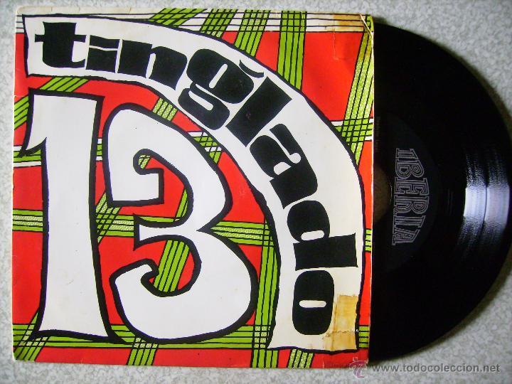 TINGLADO 13.GRINGO + 3 (Música - Discos de Vinilo - EPs - Grupos Españoles de los 70 y 80)