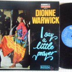 Discos de vinilo: DIONNE WARWICK - '' I SAY A LITTLE PRAYER '' LP ORIGINAL SPAIN 1968. Lote 49044257