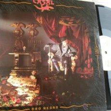 Discos de vinilo: CASAL -ORO NEGRO -MAXI 45 RPM 1988. Lote 49049837